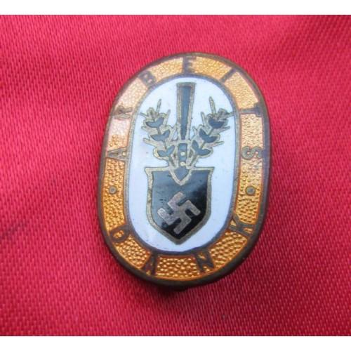 Arbeits Dank Honor Pin # 4028