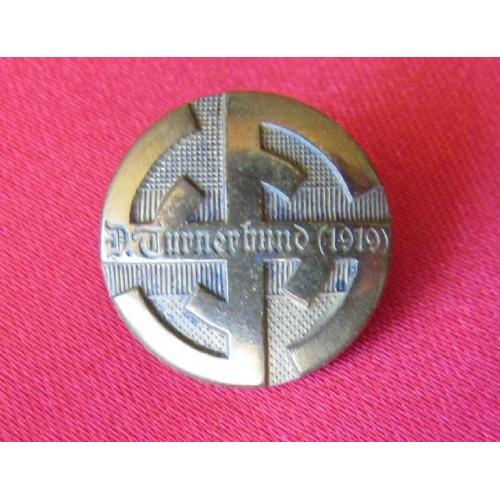 D.Turnerbund 1919 Badge # 4064