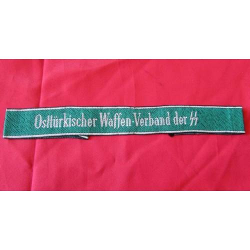 Ostturkischer Waffen-Verband der SS Cuff Title # 4092