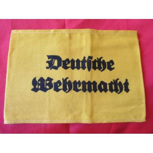 Deutsche Wehrmacht Armband # 4139