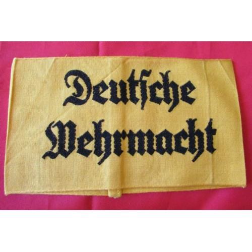 Deutsche Wehrmacht Armband # 4143