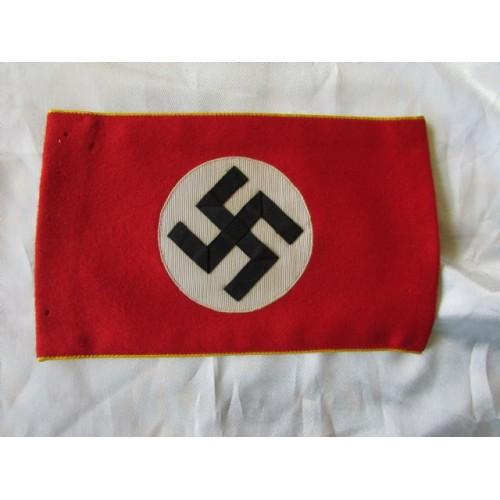 Reich Politisches Leiter Anwarter Armband  # 4144