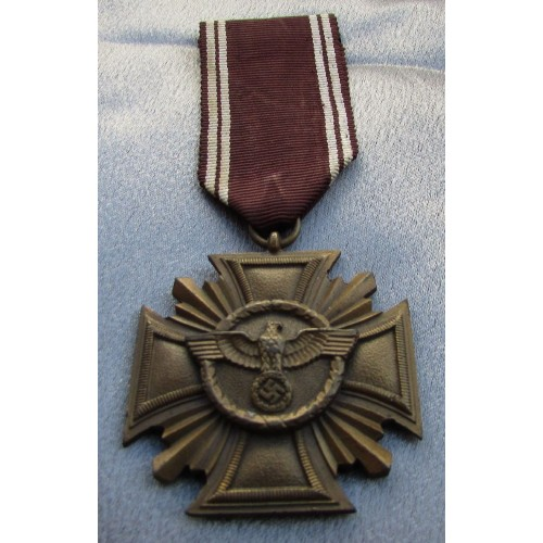 NSDAP 10 Year Long Service Medal   # 4147