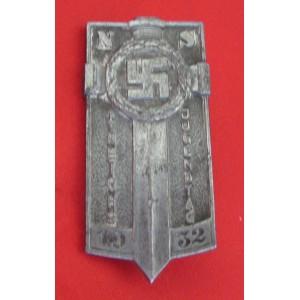 1932 Hitler Youth Potsdam Tinnie # 4161