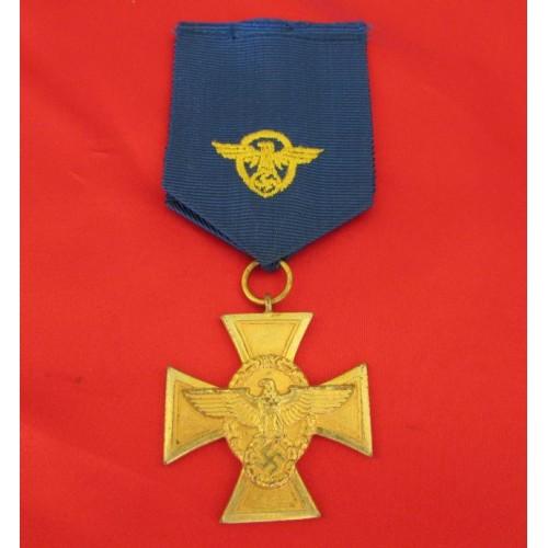 Police Long Service Medal   # 4168
