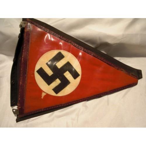 NSDAP Vehicle Pennant # 454