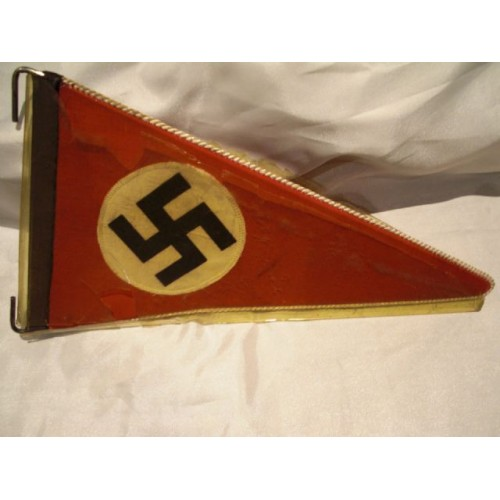 NSDAP Vehicle Pennant # 455