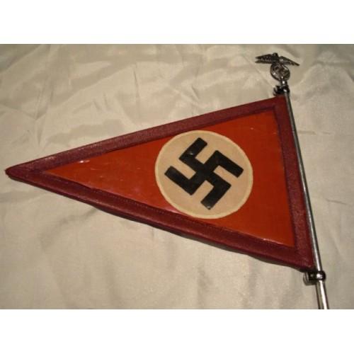 NSDAP Vehicle Pennant # 456