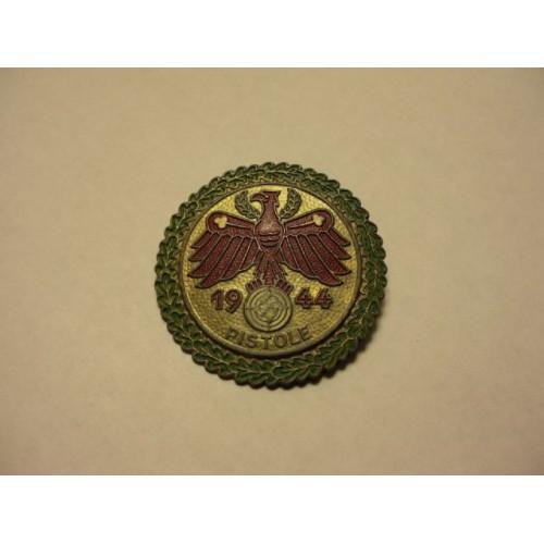 Tirolian Shooting Badge # 460