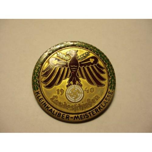 Tirolian Shooting Badge # 462