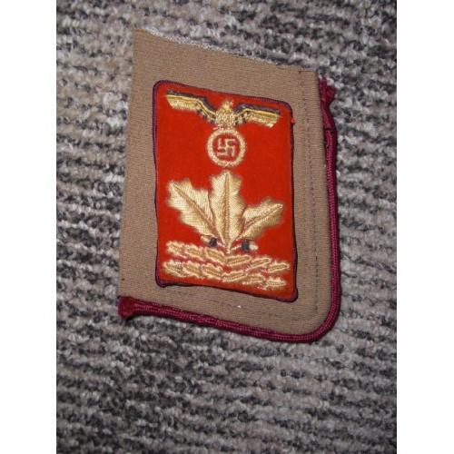 Gau Haupt-Dienstleiter Collar Tab # 492