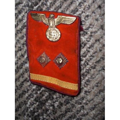 Gau Ober Bereitschaftsleiter Tab # 498