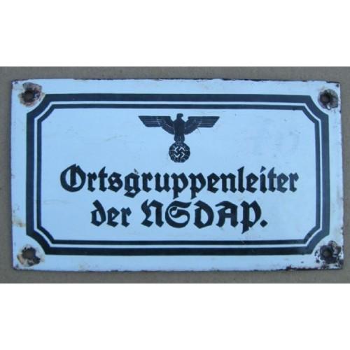 Ortsgruppenleiter der NSDAP # 534