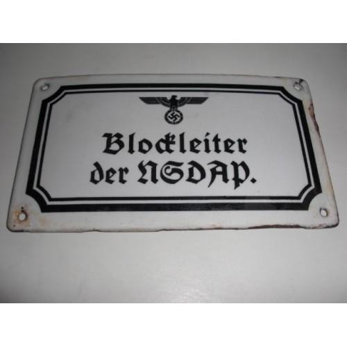 Blockleiter der NSDAP # 535