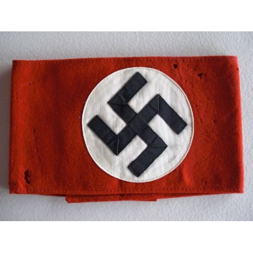 NSDAP armband # 587