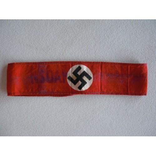 NSDAP armband # 591