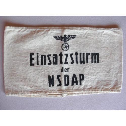 NSDAP armband # 611