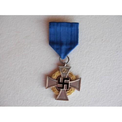 50 Year Faithful Service Medal # 620