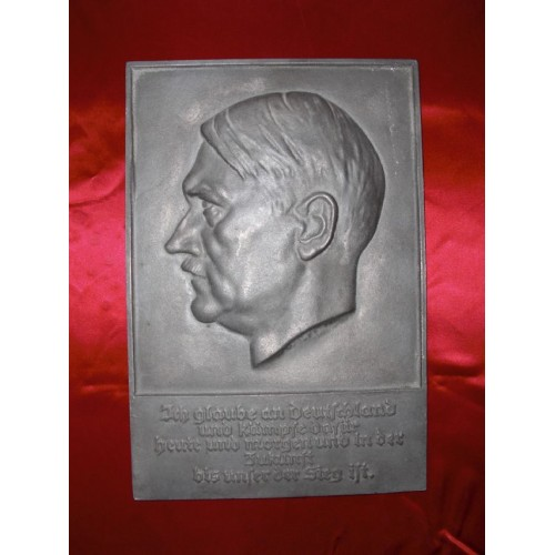 Adolf Hitler Plaque # 626