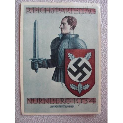 Reichsparteitage postcard # 651