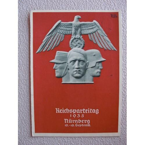 Reichsparteitage postcard # 653