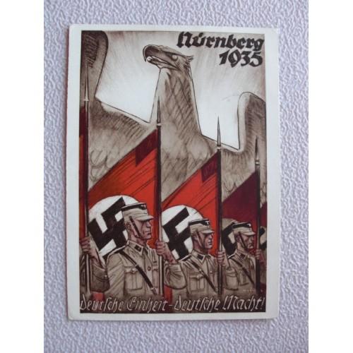 Reichsparteitage postcard # 654