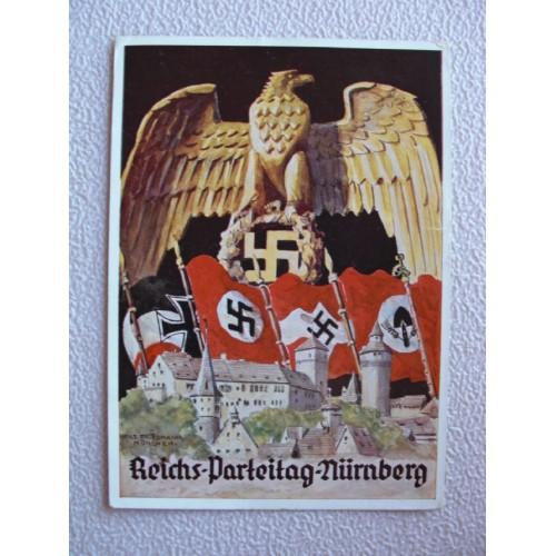Reichsparteitage postcard # 655