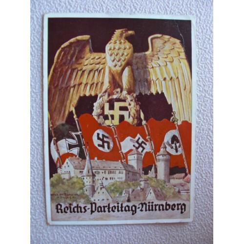 Reichsparteitage postcard # 656