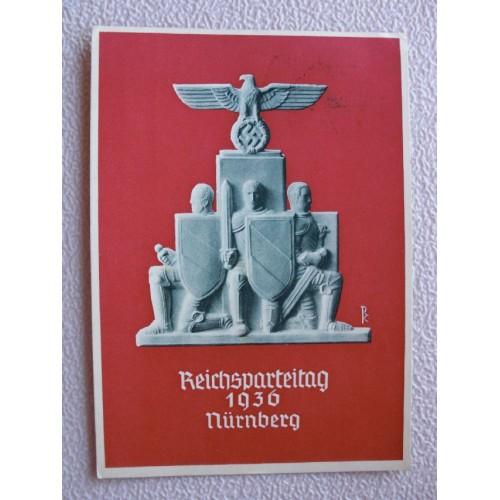 Reichsparteitage postcard # 657