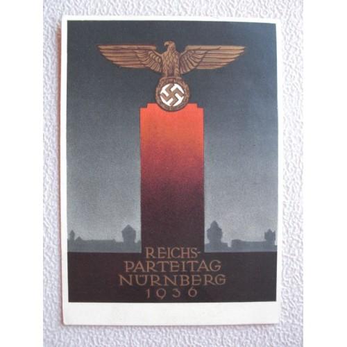 Reichsparteitage postcard # 658