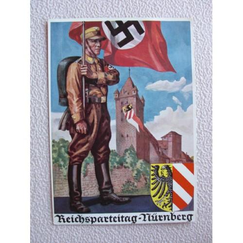 Reichsparteitage postcard # 659