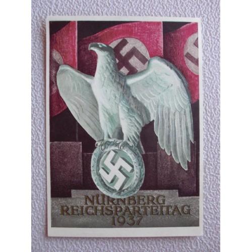 Reichsparteitage postcard # 660