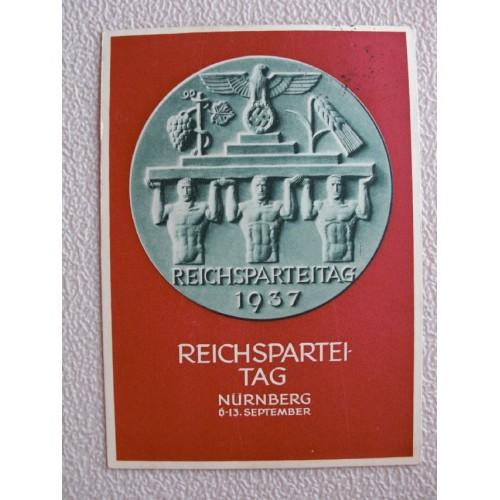 Reichsparteitage postcard # 661