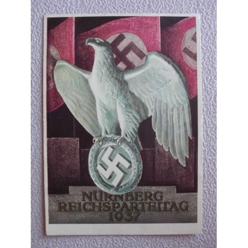 Reichsparteitage postcard # 662