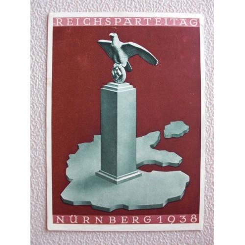 Reichsparteitage postcard # 665