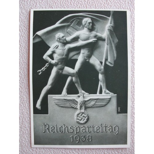 Reichsparteitage postcard # 666