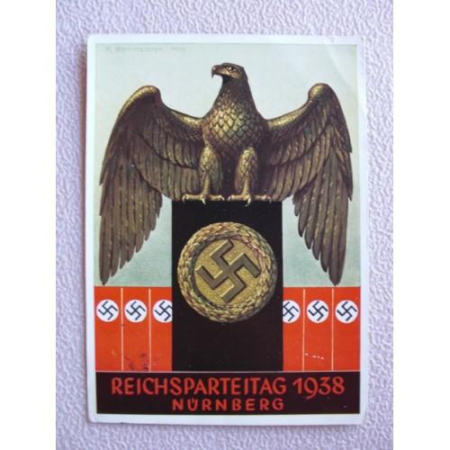 Reichsparteitage postcard # 667