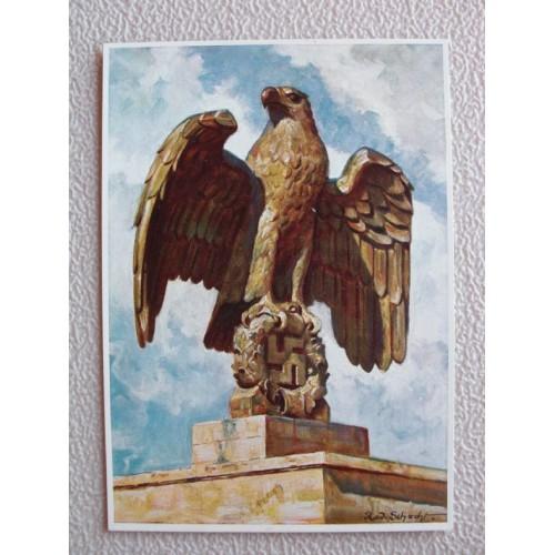 Reichsparteitage postcard # 670