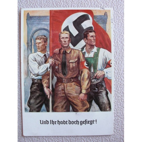 9 November 1923 Postcard # 672