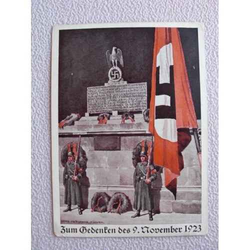 9 November 1923 postcard # 673