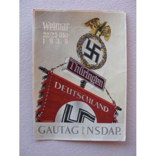 Weimar postcard # 682