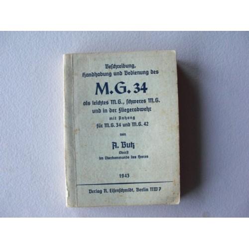M.G. 34 Manual # 684
