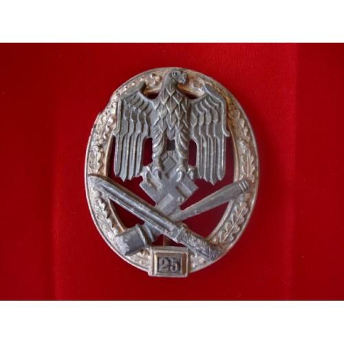 25 General Assault Badge # 697