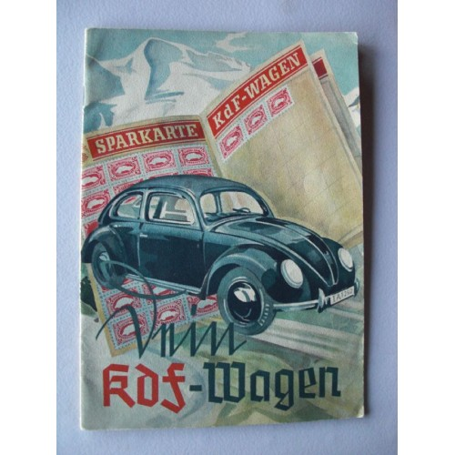 Kdf-Wagen Booklet # 699