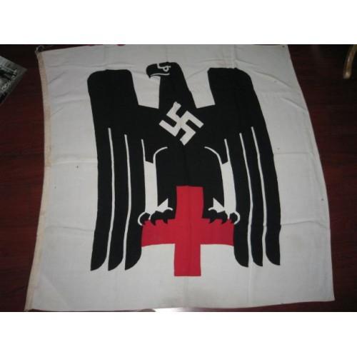DRK German Red Cross flag # 701
