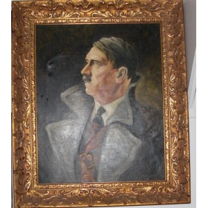 Adolf Hitler Painting # 716