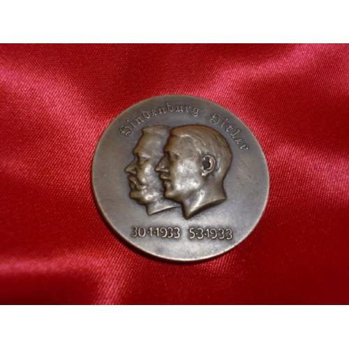 Hindenburg Hitler Medal # 748