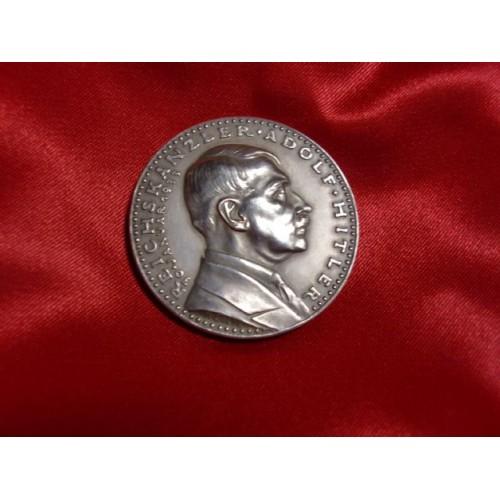 Karl Goetz Hitler Medallion # 755