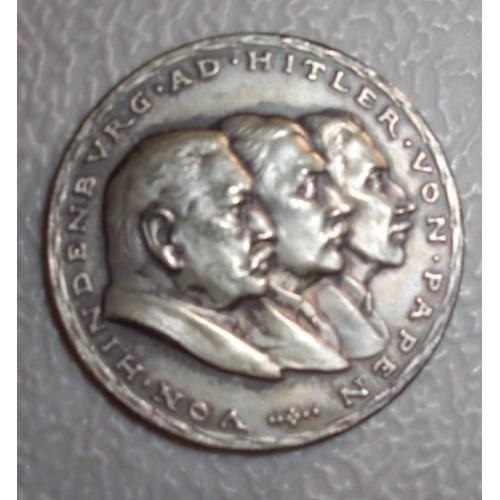 Karl Goetz Hitler Medallion # 759