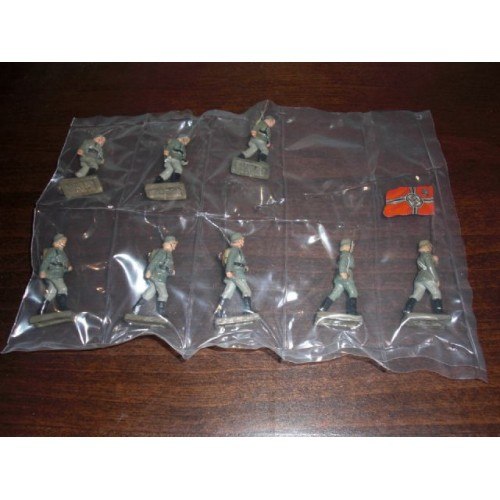 Lineol Wehrmacht Toy Soldiers # 777